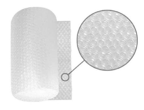 Plástico burbuja 100 mts