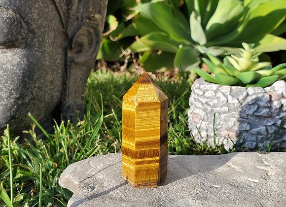 Tigers Eye Obelisk