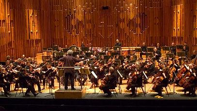BBC Symphont Orchestra at the Barbican.j