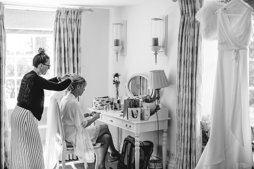 wedding hairstylist and bridal makeup artist