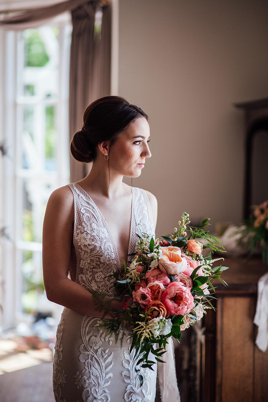 classic chignon elegant wedding hairstyle