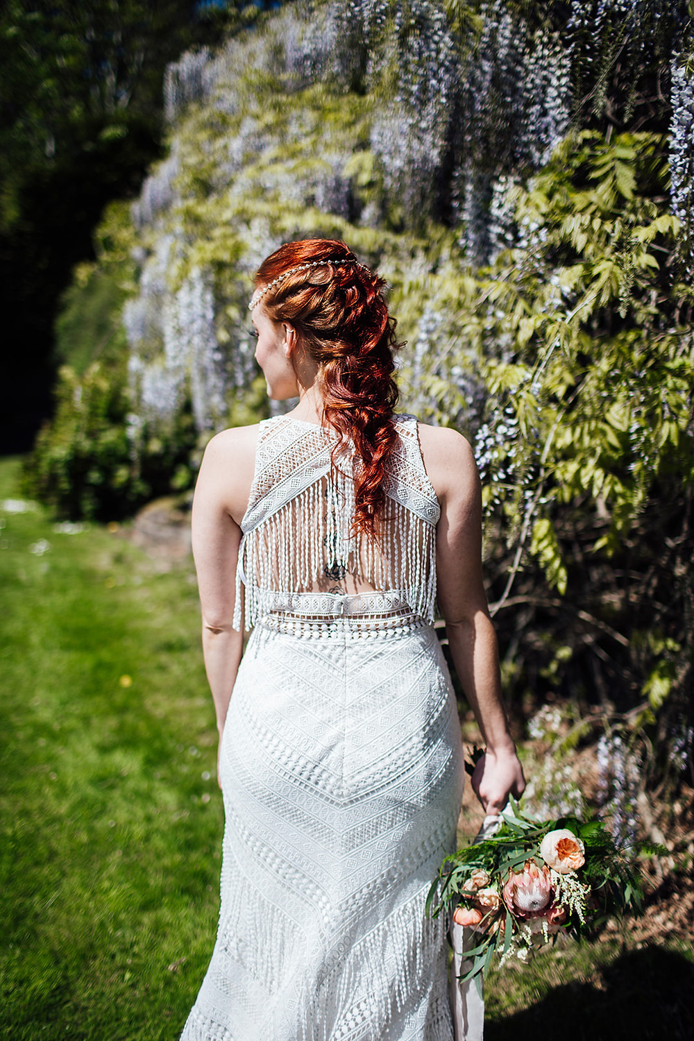 boho bride bohemian wedding ideas