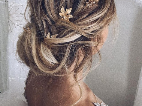 The best effortless and natural look for bridal hair and makeup