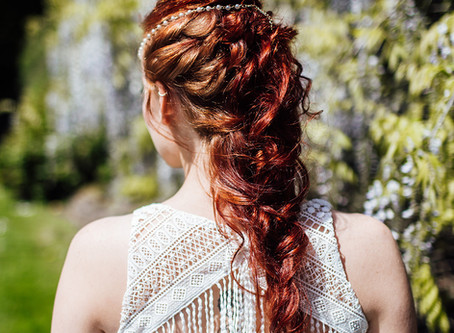 Which bridal hairstyle will compliment my wedding dress?