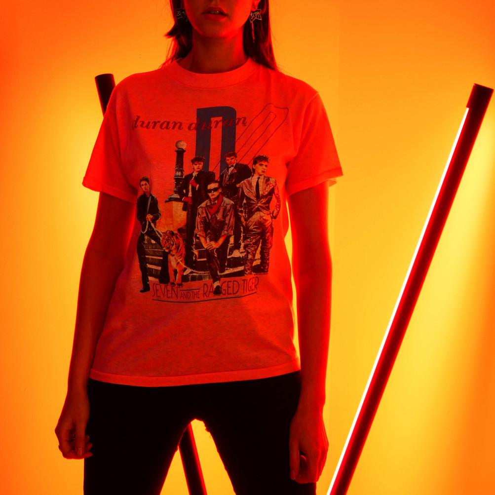 Vintage T-shirt Duran Duran - 1984