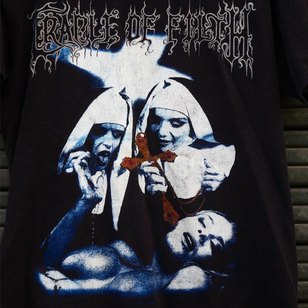 Vintage T-shirt Cradle of Filth - F**k your God - 2011