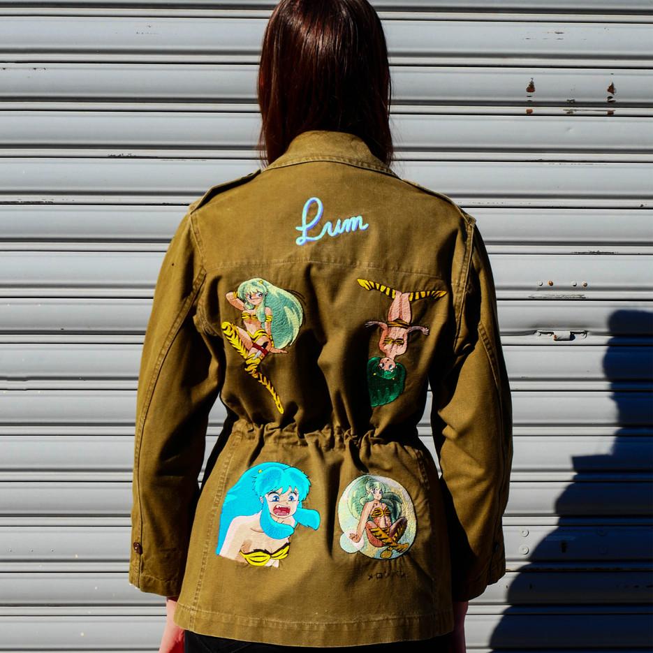 """""""Urusei Yatsura"""" jacket"""