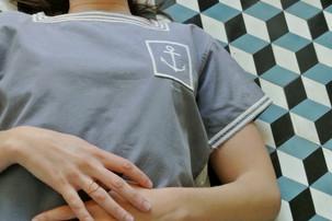 Marina 30s Top - Grey