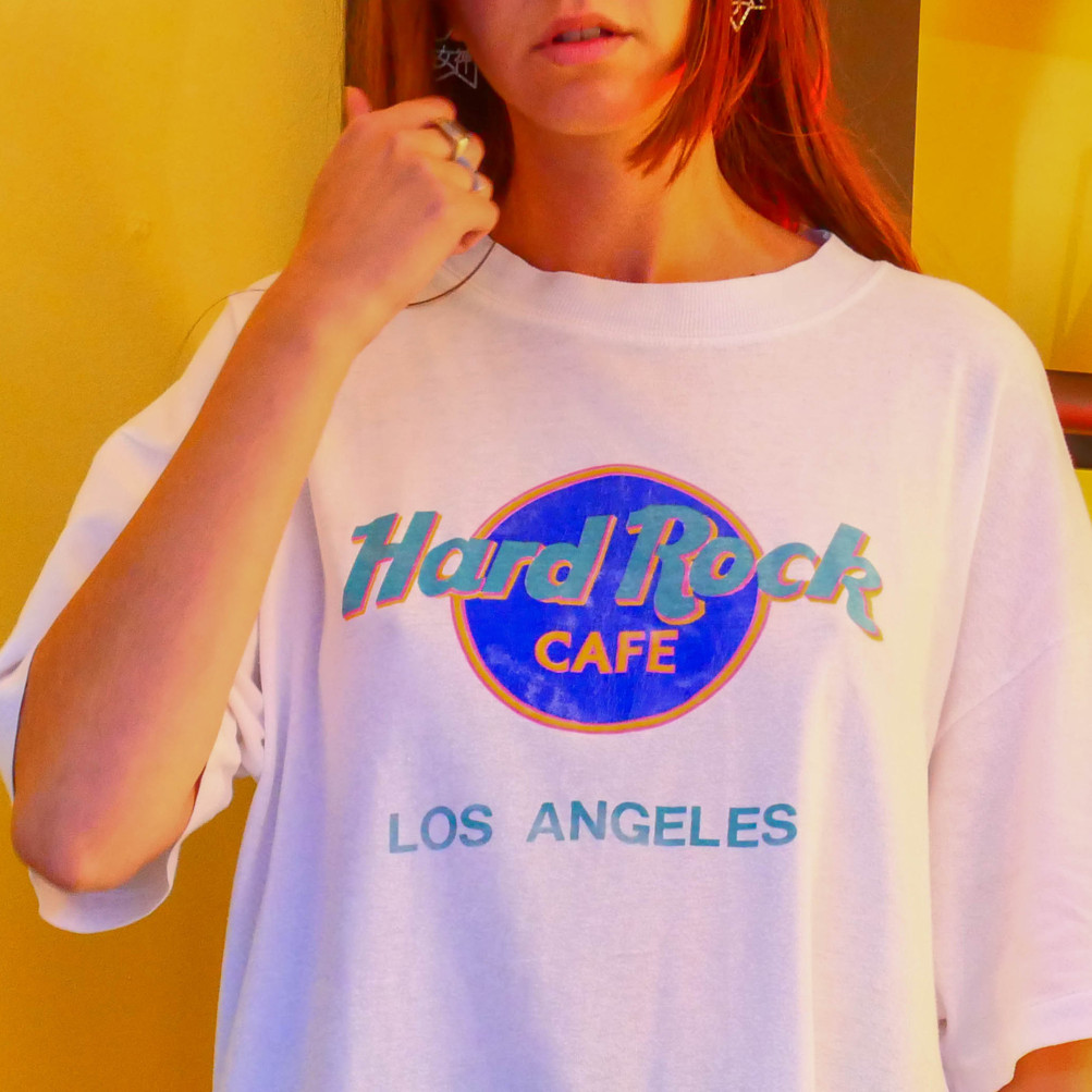 Vintage T-shirt Hard Rock Cafe Los Angeles 90's
