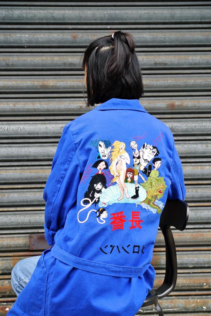 """Bosozoku Jacket n°1"" pain melon"