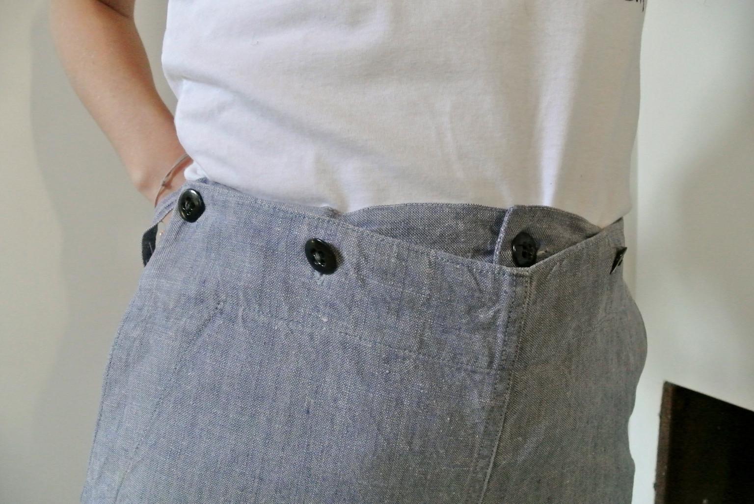 Marina 60s Pants - Pain Melon
