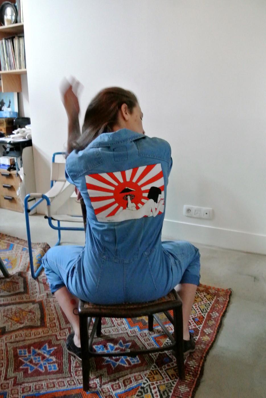 """""""Japanese Girl"""" Jumpsuit pain melon"""