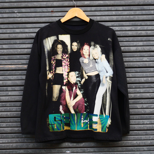 "Vintage Sweat Shirt ""Spice Girls"" 90's"