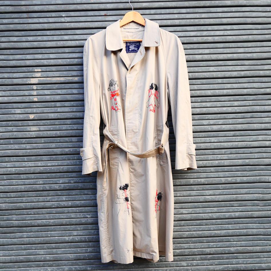 « Shibari » Trench Coat