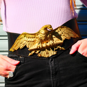 Vintage Eagle Belt