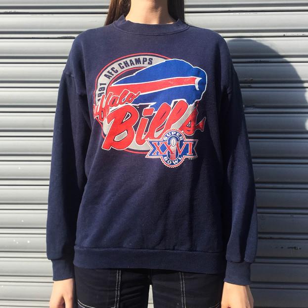 Vintage Sweat Shirt - Super Bowl 1991