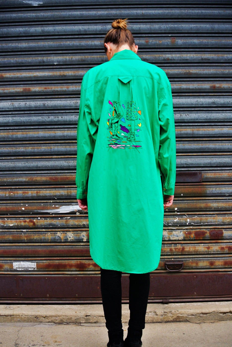 """Overgreen"" Oversize Shirt"