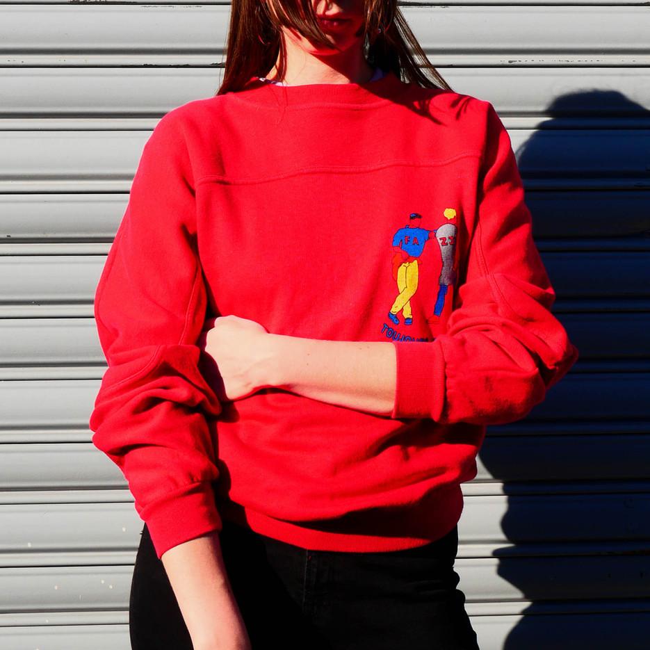 Vintage French Sweatshirt Fenzi