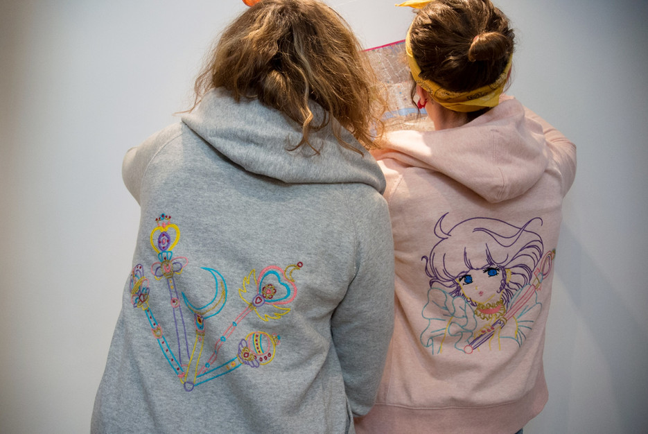 Sportswear with Embroideries