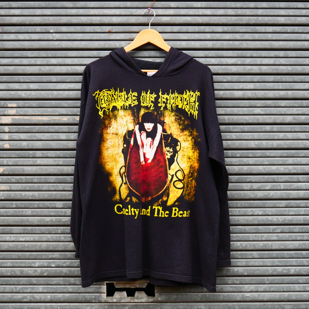 Vintage Hoodie - Cradle of Filth - Cruelty and the Beast - 90's