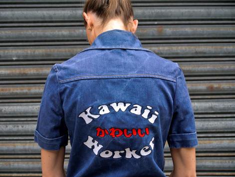 """""""Kawaii Worker"""" Shirt"""