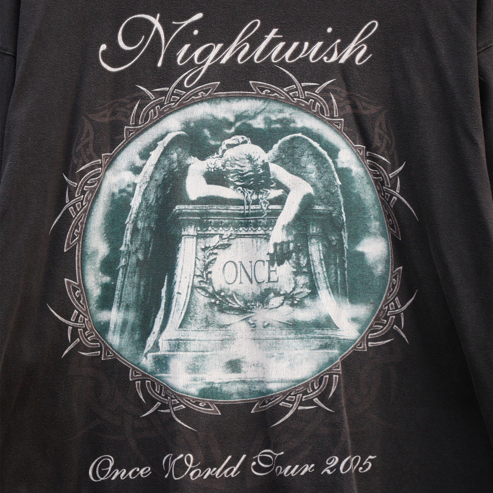 Vintage T-shirt (Long Sleeves) Nightwish - Worldtour 2005
