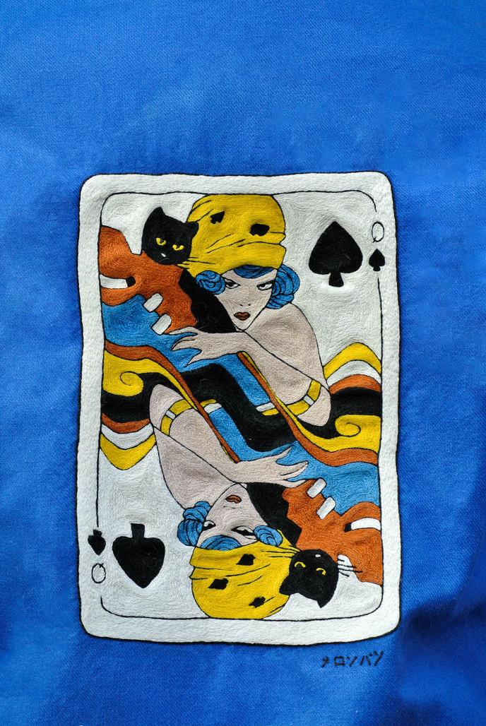 """""""Queen of Spades"""" Jacket"""
