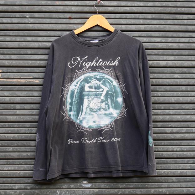 Vintage T-shirt (Long Sleeves) - Nightwish - Worldtour 2005