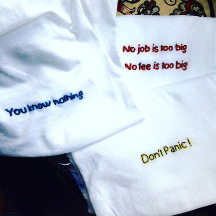 Special collection of t-shirts for a shop ^^