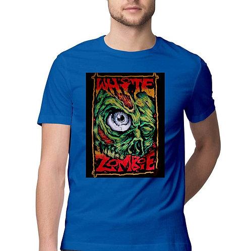 Men's half sleeve round neck T-shirt by SKETCH