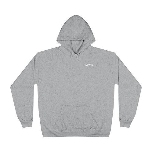 Unisex EcoSmart® Pullover Hoodie Sweatshirt by SKETCH