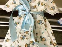 Flower Button Doll Dress