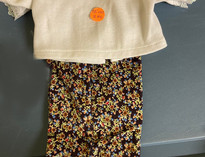Flower Pants 2 Piece Doll Clothes