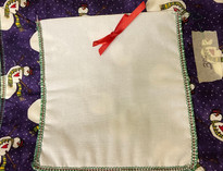 Snowman Pocket Pot Holder