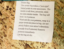 Cork-Grain Potato Bag