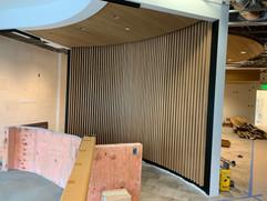 Fortina Panel Installation at Reception Desk