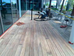 Restoration of IPE Decking