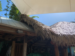 Synthetic Palm Thatch