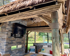 Themed Outdoor Kitchen