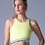Thumbnail: WANDER CROP TOP: SUNNY LIME by Glyder