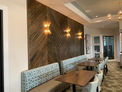 Cypress T&G Accent Wall