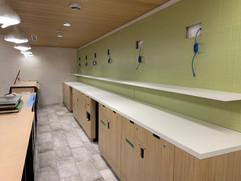 POS Counter And Display Wall