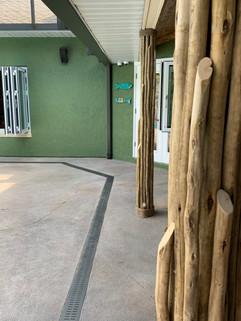 Eucalyptus Columns