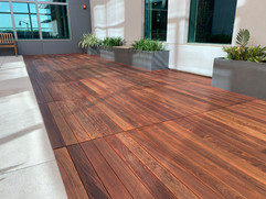 Oiled IPE Decking