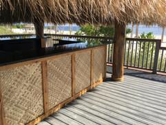 Natural Palm Thatch & Bac Bac Matting