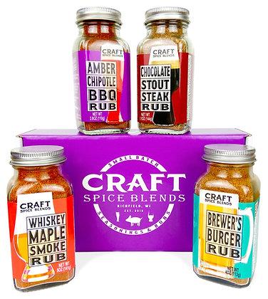 Craft Spice Blends BBQ Rub Gift Set