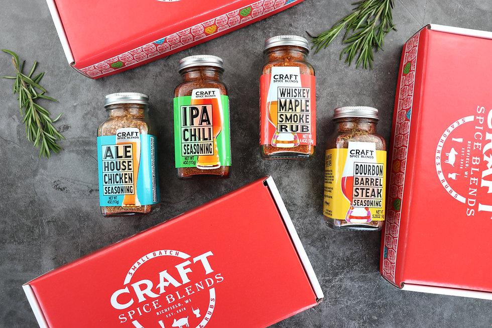 Craft Spice Blends Seasoning & Rub Gift Set
