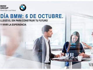 DÍA BMW: 6 DE OCTUBRE. LLEGÓ EL DÍA PARA CONSTRUIR TU FUTURO Y VIVIR LA EXPERIENCIA.