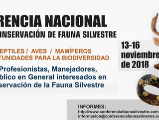 Conferencia Nacional Sobre Manejo y Conservación de la Fauna Silvestre