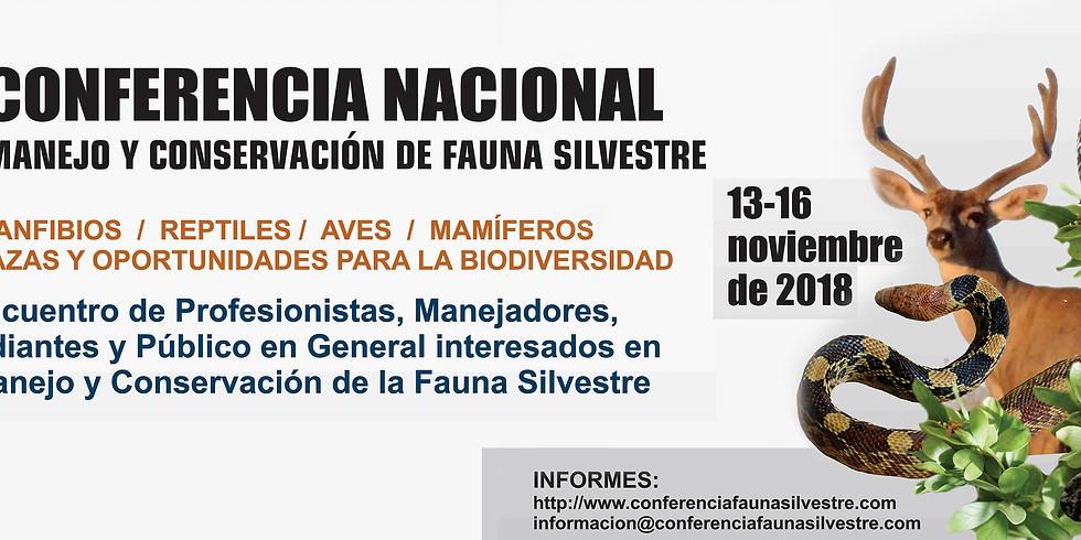 Conferencia Nacional Sobre Manejo y Conservación de Fauna Silvestre